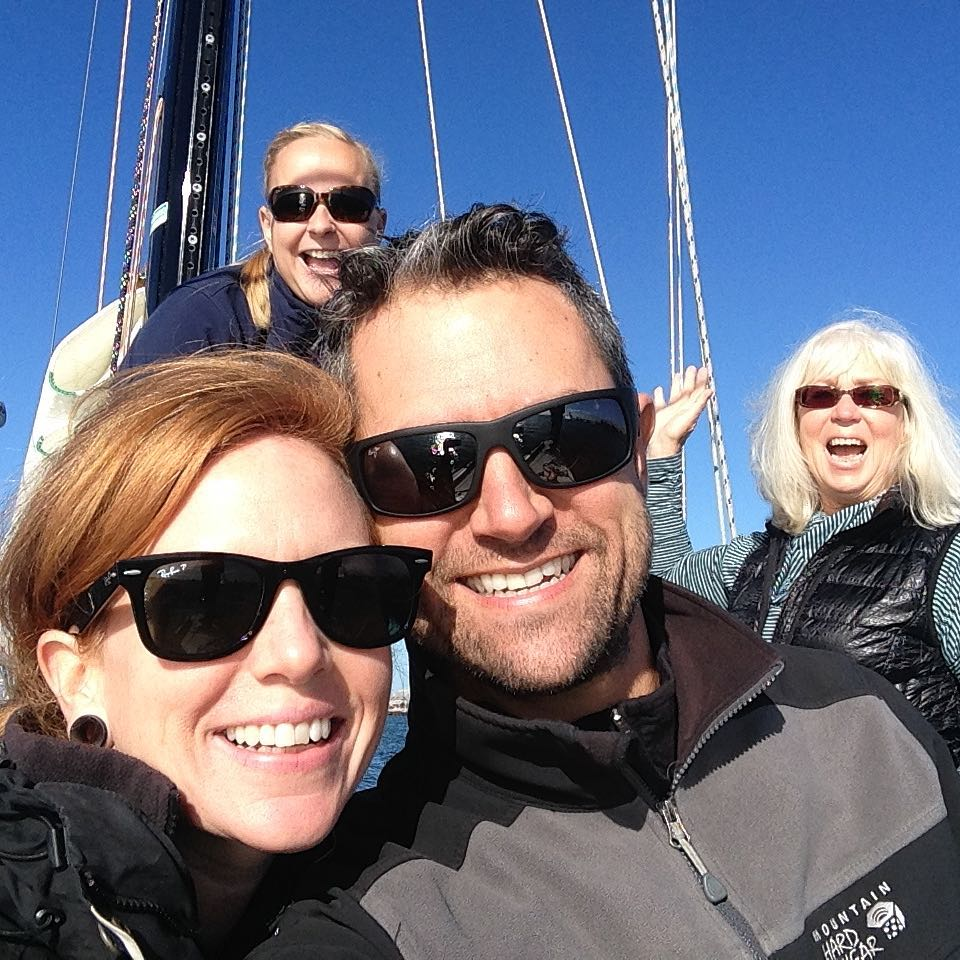 New Year's Day circumnavigation attempt of Alameda island