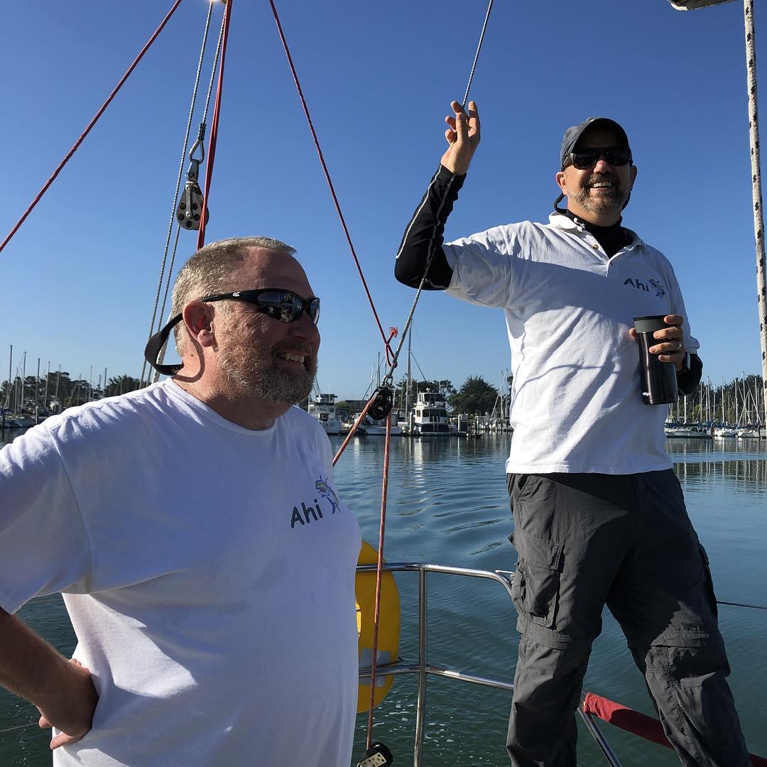 OYRA Half Moon Bay race on Ahi
