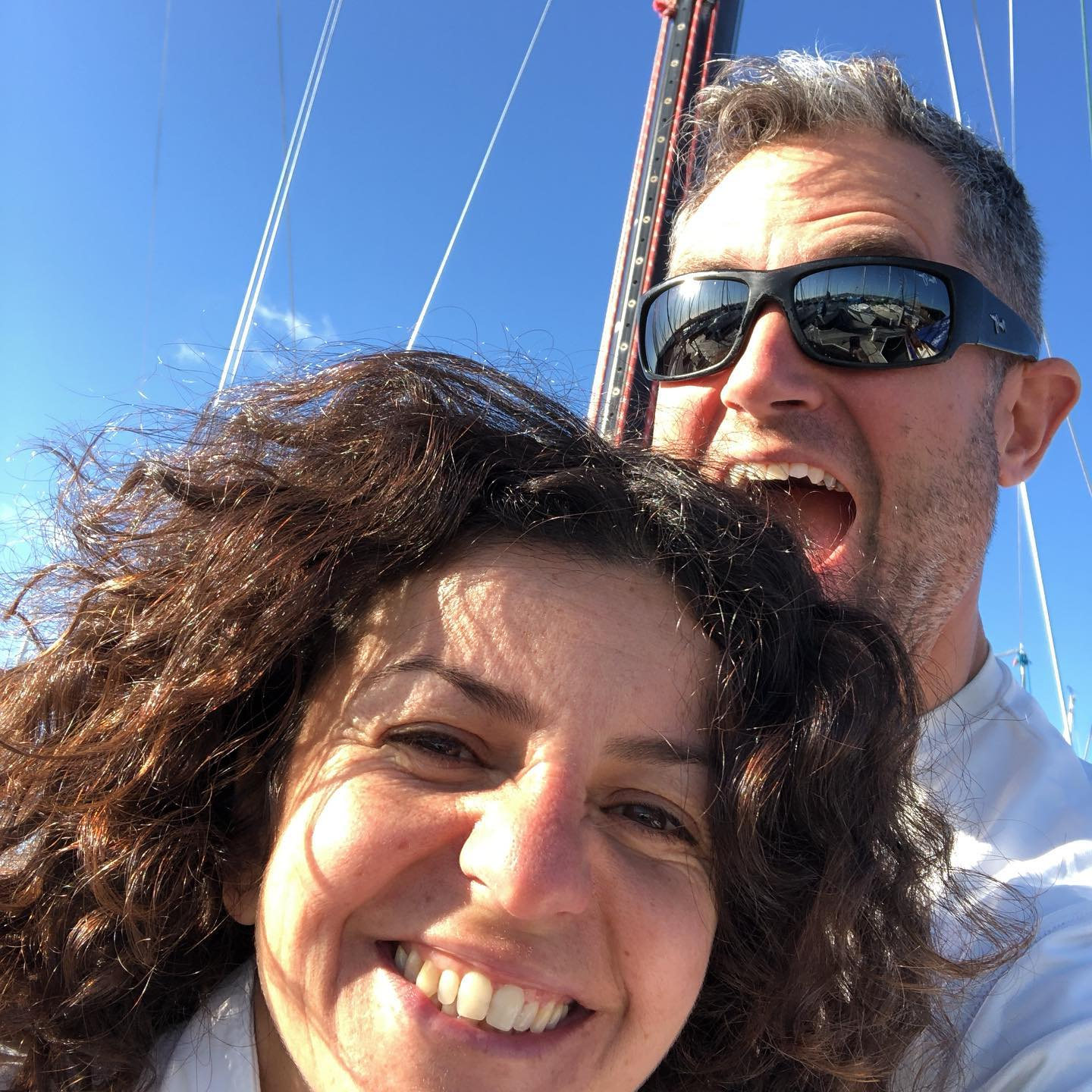 Yay Najlae is sailing with us again :) Stewball Express 37 for Berkeley Midwinters