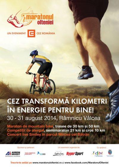 Maratonul Olteniei - CEZ transforma kilometri in Energie pentru Bine