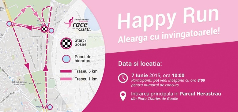 info traseu happy run