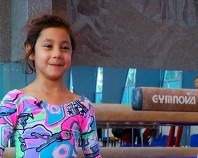 Gimnastica Onesti Denisa Marchidan 6 ani