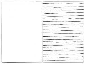 Gabriel Truan st 1 diptico rotulador sobre tela (2x) 30 x 20 cm 2002
