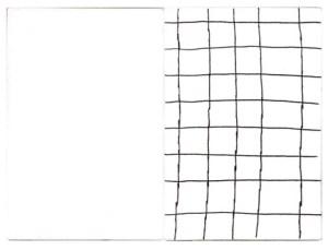 Gabriel Truan st 3 diptico rotulador sobre tela (2x) 30 x 20 cm 2002