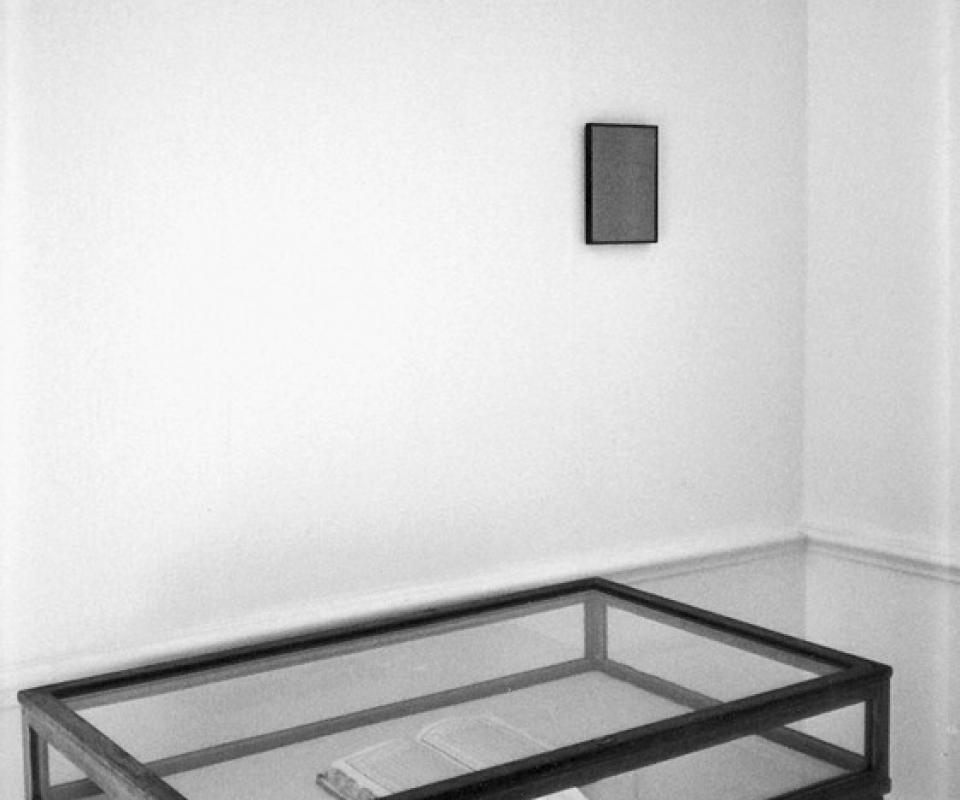 Gabriel Truan expo salle crosnier 1994 - peu importe