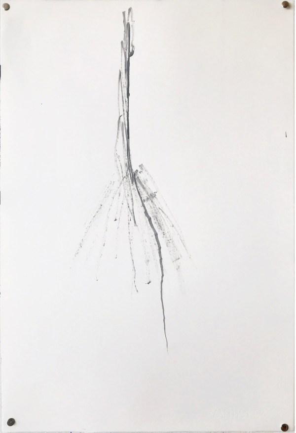 Gabriel Truan obra sobre papel 2021