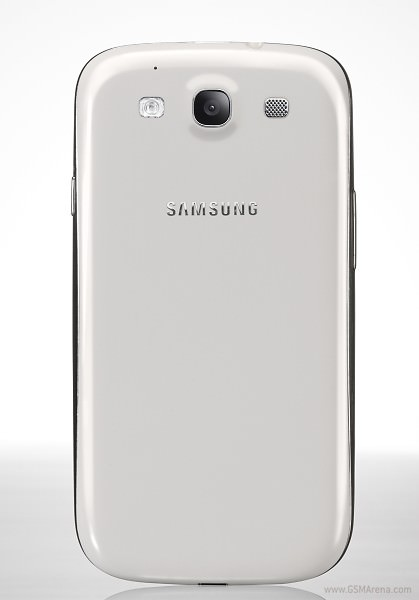 Samsung Galaxy S3 alb spate