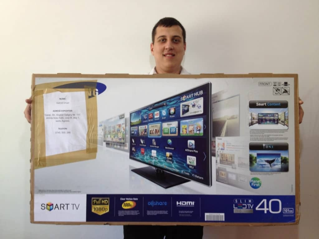 Gabriel Ursan Samsung Smart TV