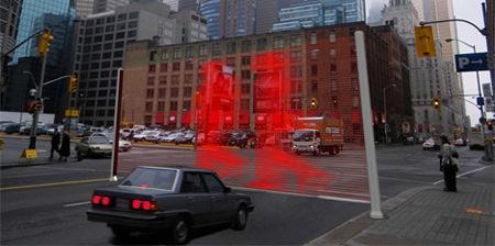 Trecere pietoni laser 1