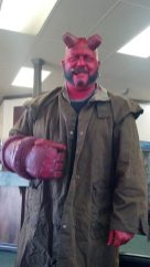 Costum Hellboy Halloween