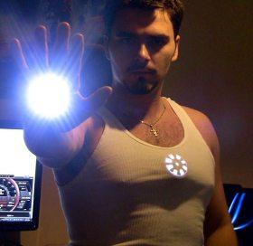 Costum Iron Man de Halloween