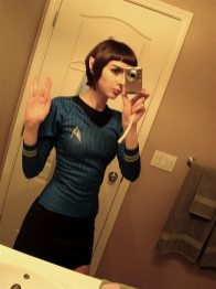 Costum Star Trek de Halloween