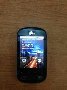 LG Optimus Me 350 ecran principal