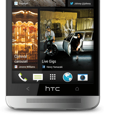 HTC One BlinkFeed imagine
