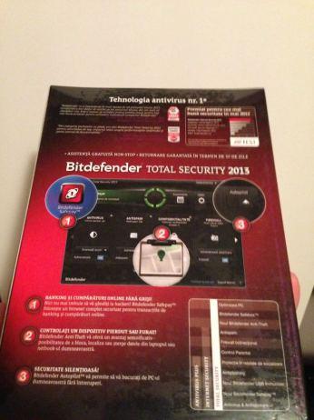 Licenta BitDefender Total Security 2013 spate
