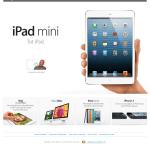 Navigare pe internet iPad mini 1