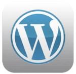 Wordpress iOS icon