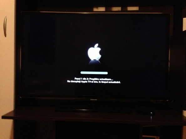 Update soft Apple TV
