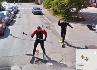 Google Street View 5