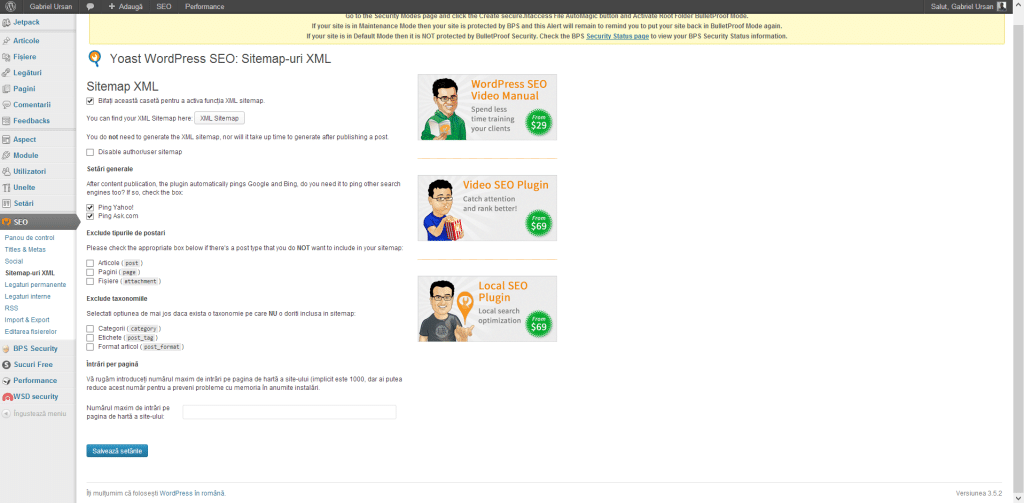 Cel mai bun plugin WordPress SEO 8