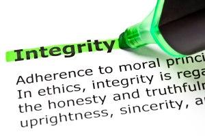 Integritate in vanzari