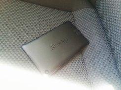Nexus 7 2 in masina
