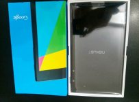 Nexus 7 2 out of the box