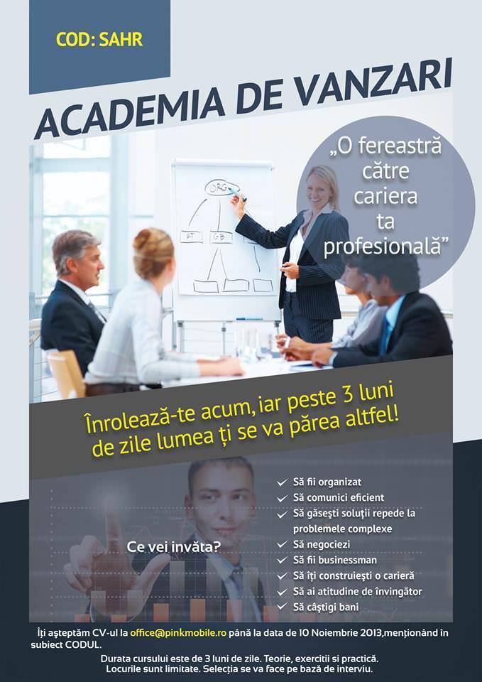 Academia de Vanzari Galati