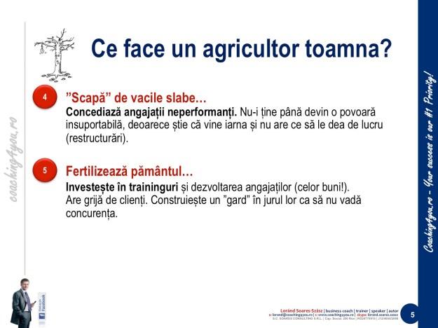 5. Învățăm de la agricultori