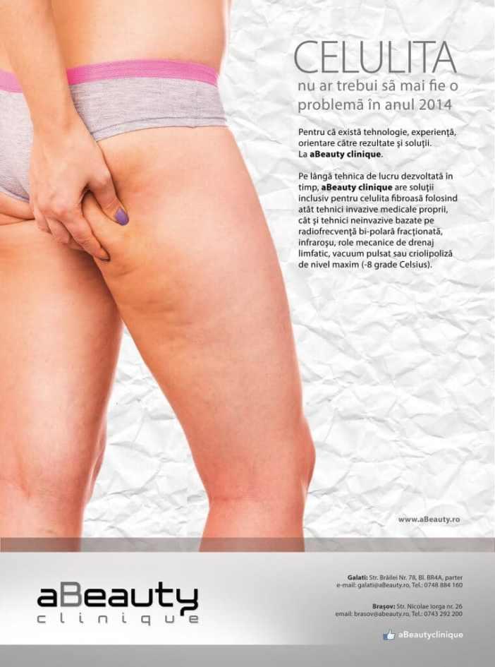 aBeauty clinique în revista Elle din septembrie 2014