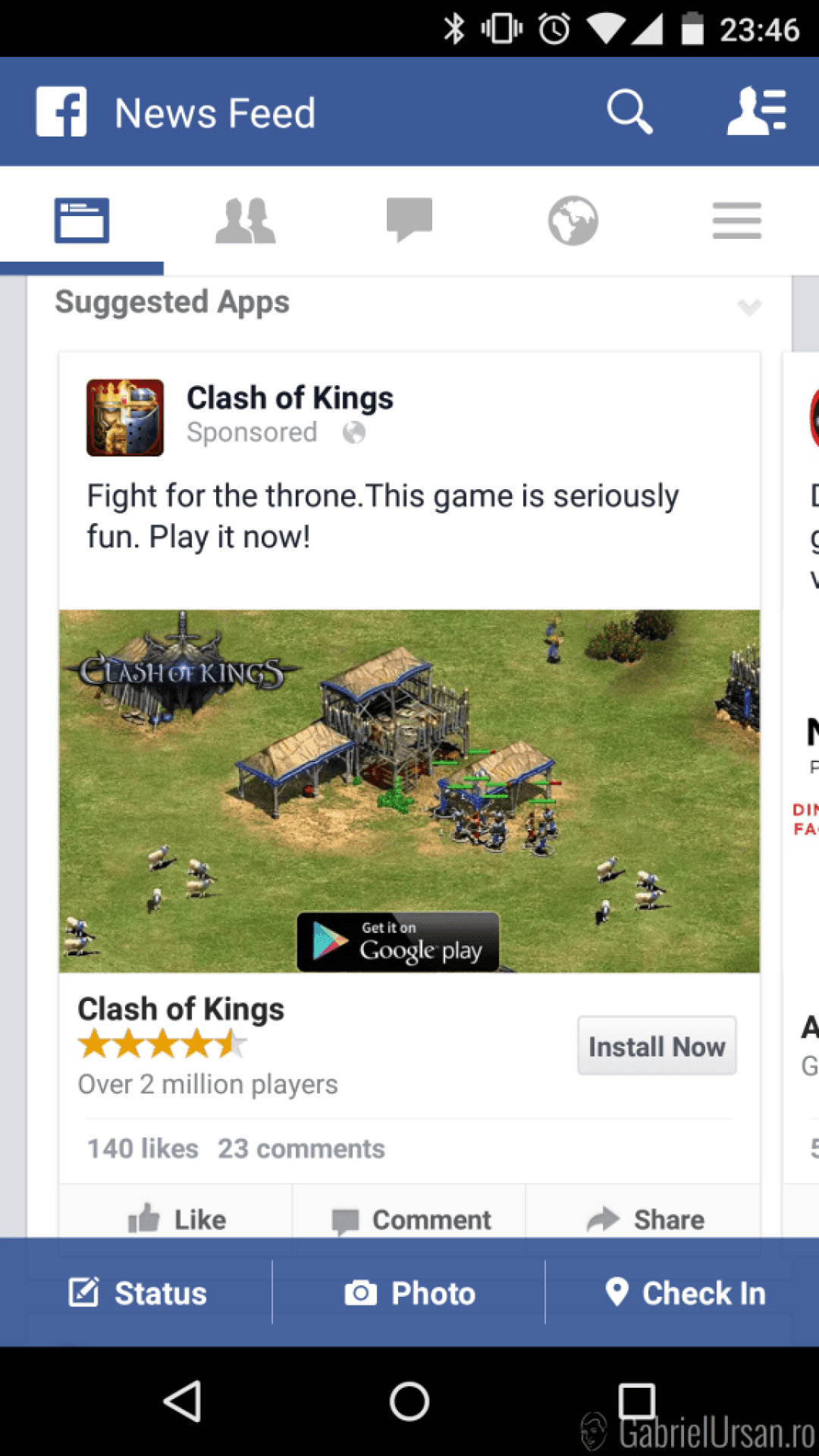Clash of Kings si Age of Empires