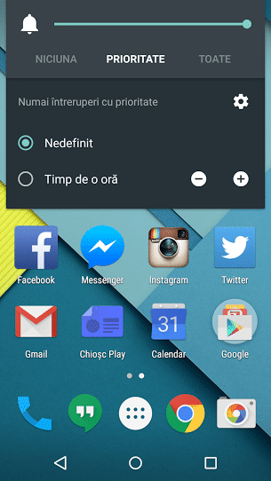 Silent Mode Android Lollipop