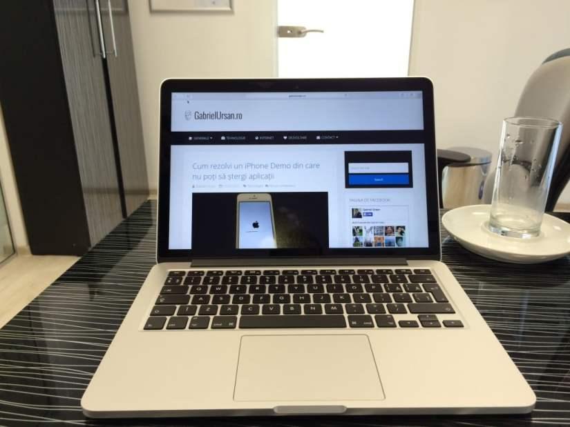 MacBook Pro Retina 13 poză 7
