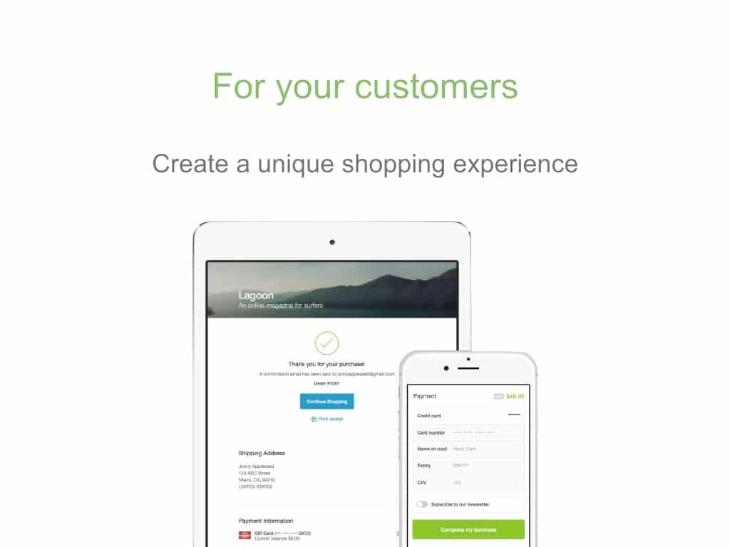 Shopify magazin online