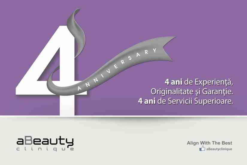 4 ani aBeauty Clinique