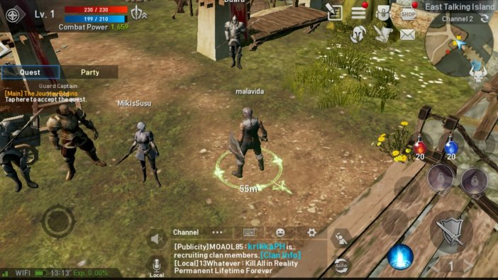 Lineage Revolution 2 Gameplay