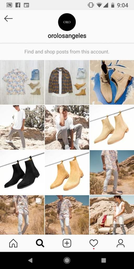 Vanzare pe magazin online Shopify pe Instagram