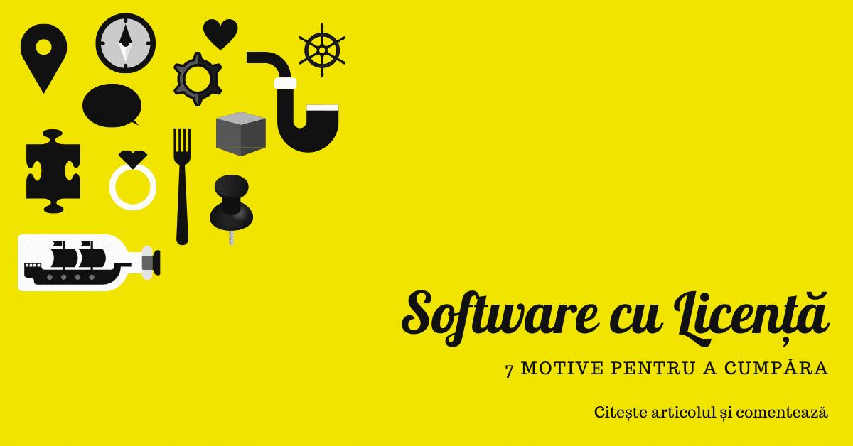 Software cu Licenta