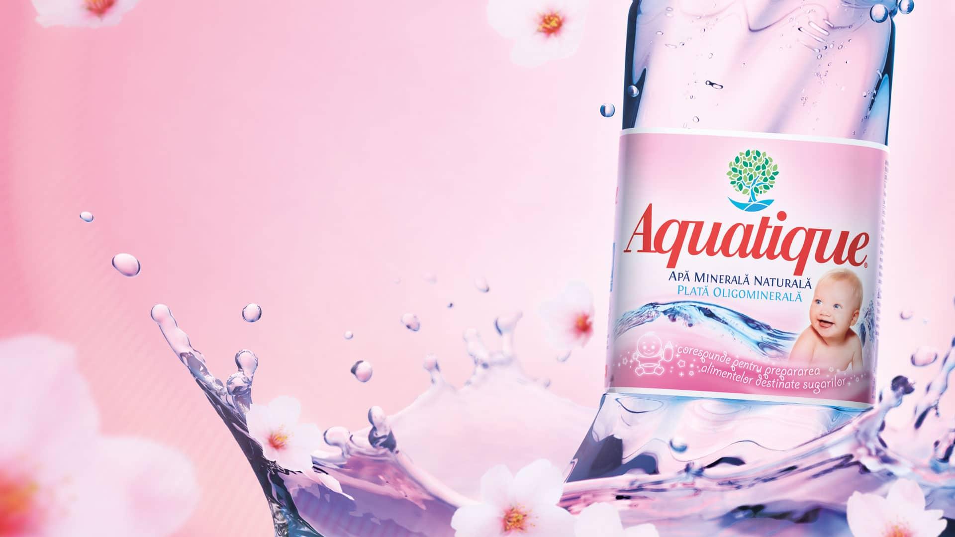 Apa minerala naturala Aquatique