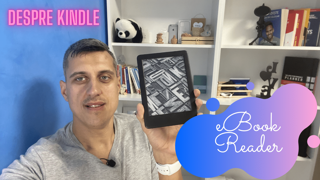 Despre Kindle eBook Reader