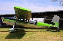 Uno Ocho Cero: Cessna 180 CC-PIO (foto: Carlos Ay).