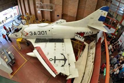 Vista superior del 3-A-301. (Foto: Esteban Brea)