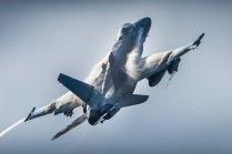 EF-18M del Ala 15. Nótese el Maverick bajo el ala derecha (foto: YFC Photography)