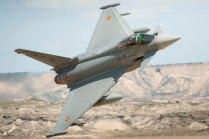 Los nuevos Eurofighters también operan en Bardenas (foto: YFC Photography)