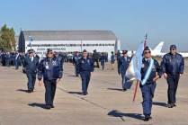 Veteranos de la Guerra de Malvinas de la FAA. (Foto: Andrés Rangugni)