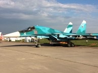 El avión de ataque Su-34 (foto: Rostec)