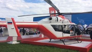 El helicóptero utilitario ligero Ansat (foto: Rostec)