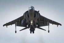 Harrier II Plus de la 9ª Escuadrilla de la Armada (foto: YFC Photography).