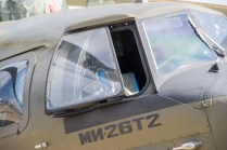 El cockpit del enorme MI-26T el mayor helicóptero de transporte del mundo actualmente (foto: Rostec)