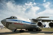 Un clásico del transporte aéreo ruso el Il-76M (foto: Rostec)